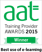 AAT Awards Best use of E-learning 2015