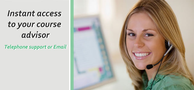direct telephone and email support