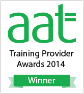 AAT Training Provider Awards winner