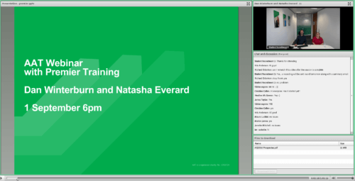 AAT Webinar with Premier Training