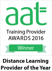 AAT Distance Learning Provider of the Year 2016