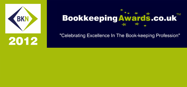 Bookkeeping awards 2012