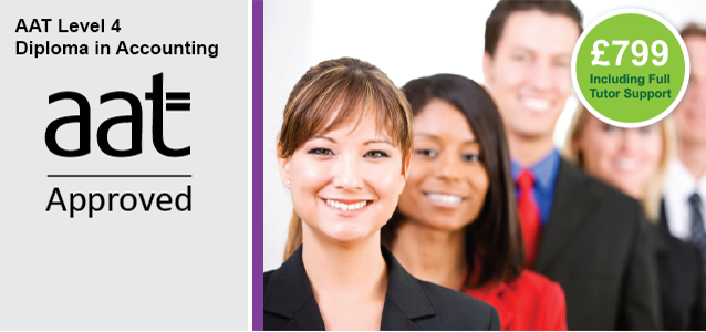 AAT Level 4 AAT Diploma in Accounting - £799