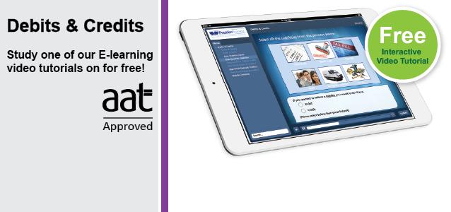 E-learning Debits Credits
