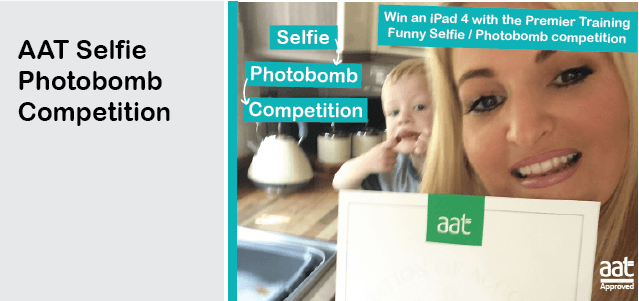 Premier Training AAT Certificate Selfie/Photobomb Competition
