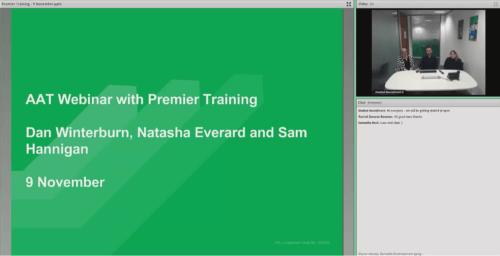 AAT Webinar Premier Training