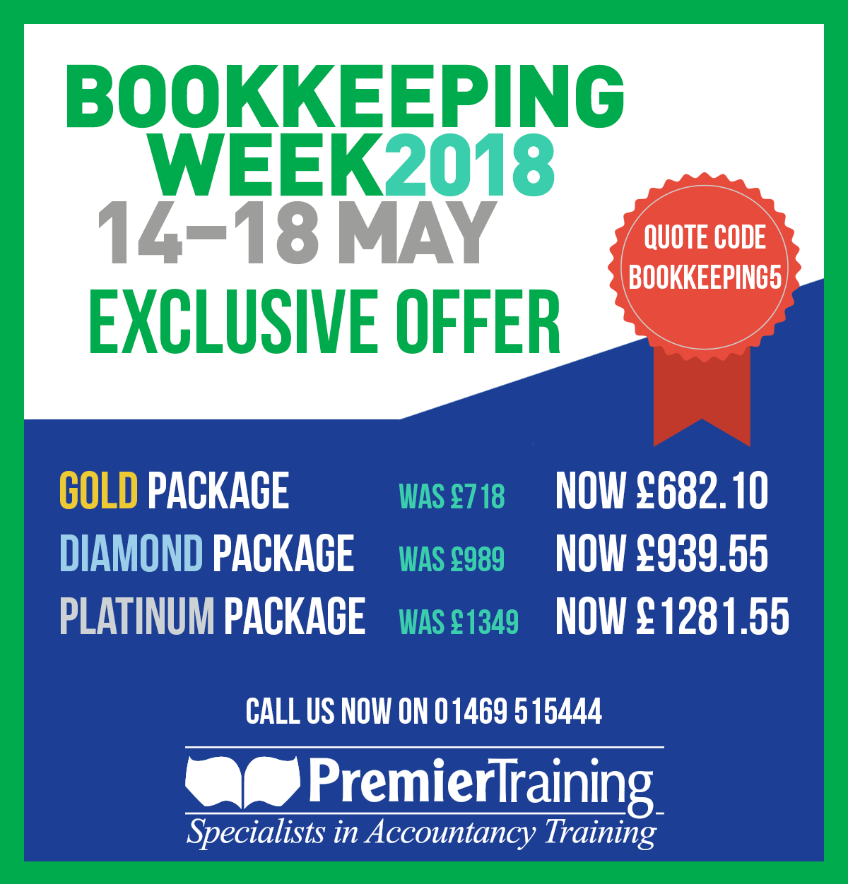 Bookkeeping Week Offer