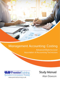 Management Accounting: Costing – AAT Study Manual