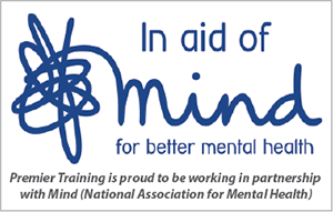 Premier Training is proud to be working in partnership with Mind