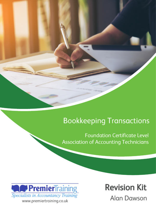 Bookkeeping Transactions – AAT Revision Kit