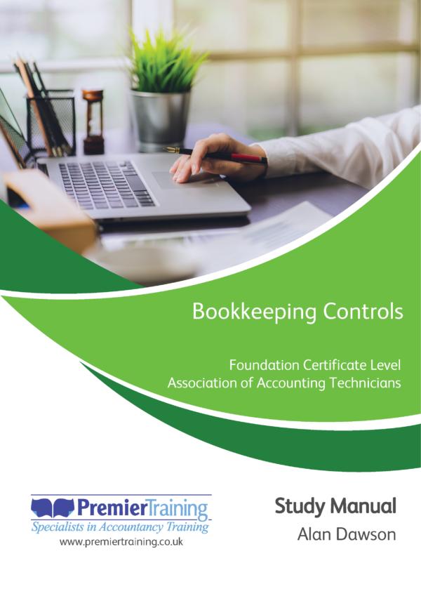 Bookkeeping Controls - AAT Single Unit