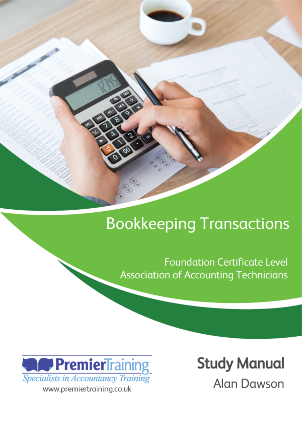 Bookkeeping Transactions (BTRN) - Single Unit