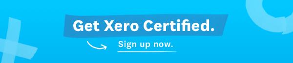 get xero certified