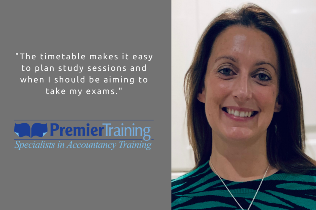 Premier Training AAT student Lucie Foot