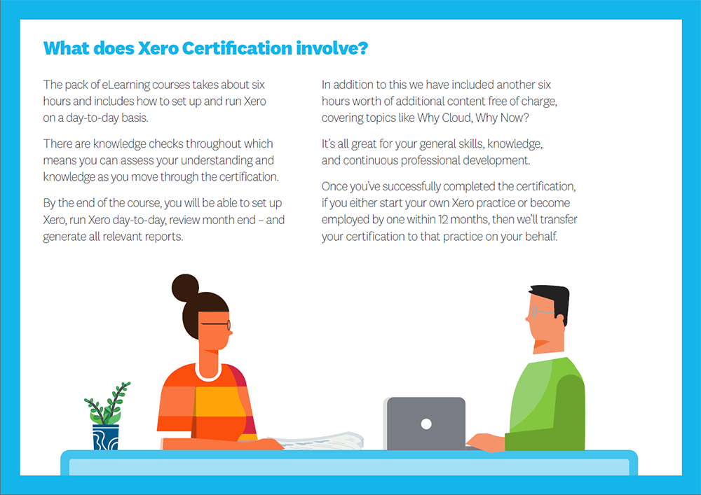 What does the Xero Certification involve