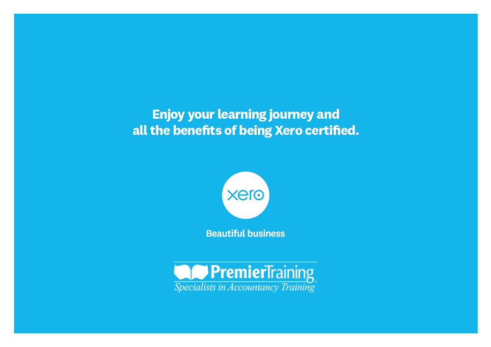 Xero Premier Training