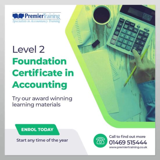 Level 2 Foundation Certificate in Accounting