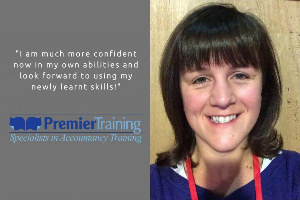 Premier Training AAT student Jessica O'Connor