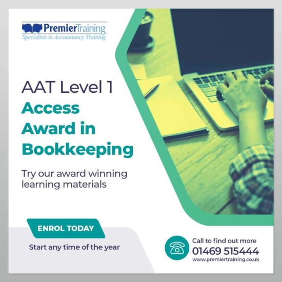 AAT Access Award in Bookkeeping