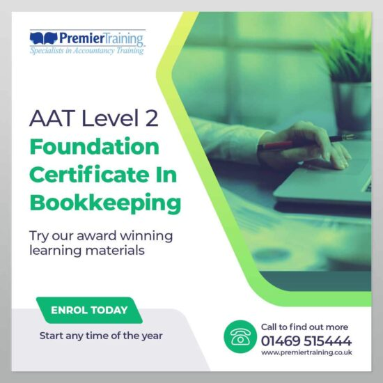 AAT Foundation Certificate In Bookkeeping