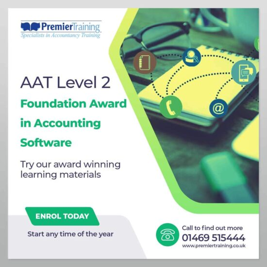 AAT Foundation Award In Accounting Software