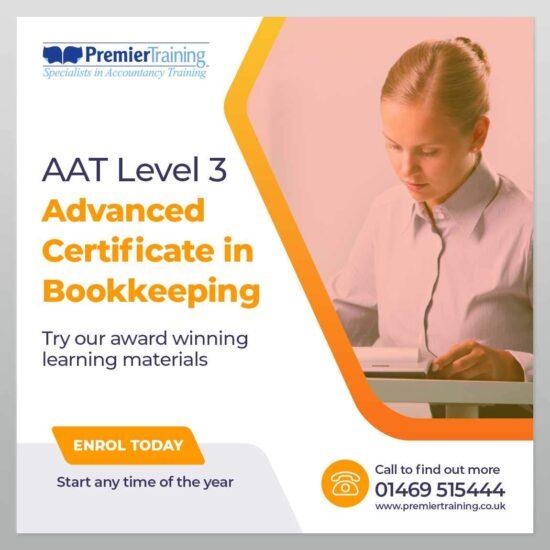 AAT Advanced Certificate In Bookkeeping