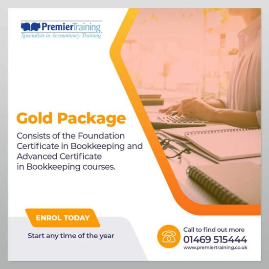Bookkeeping Gold Package