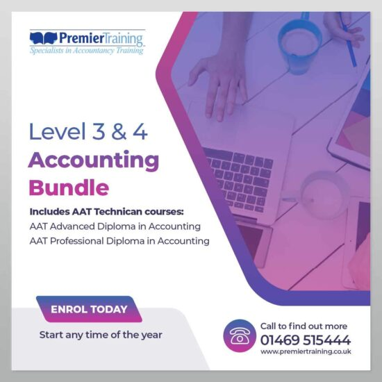 Level 3 & 4 AAT Accounting Bundle