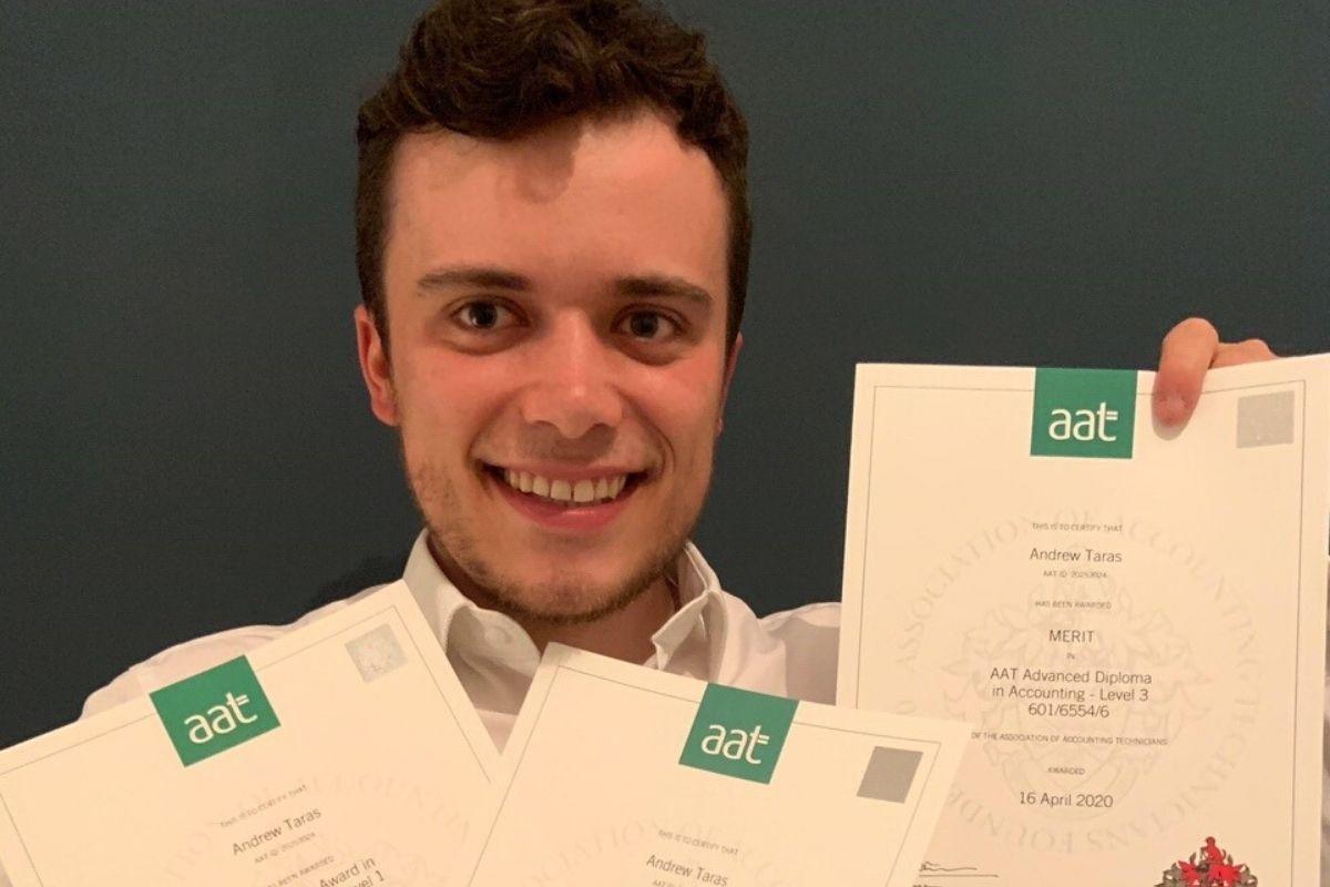 Premier Training student Andrew Taras